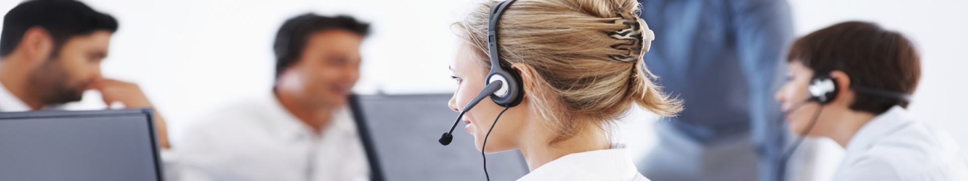 call centre slider